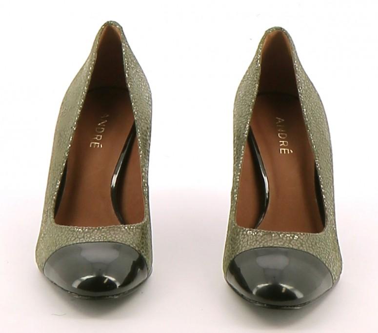 Chaussures Escarpins ANDRE VERT CLAIR