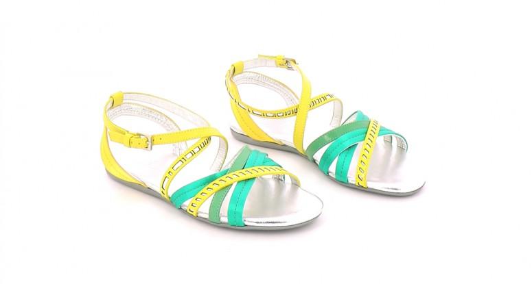 Chaussures Sandales HOGAN MULTICOLORE