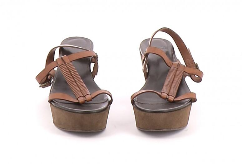 Chaussures Sandales IKKS MARRON