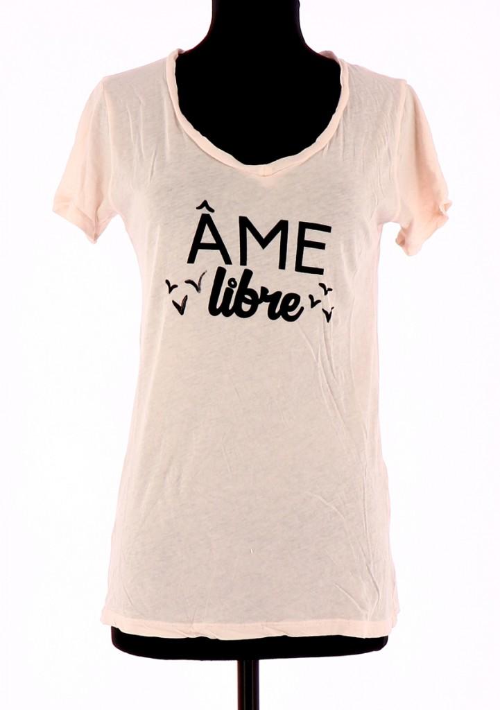 Vetements Tee-Shirt AMERICAN VINTAGE ROSE