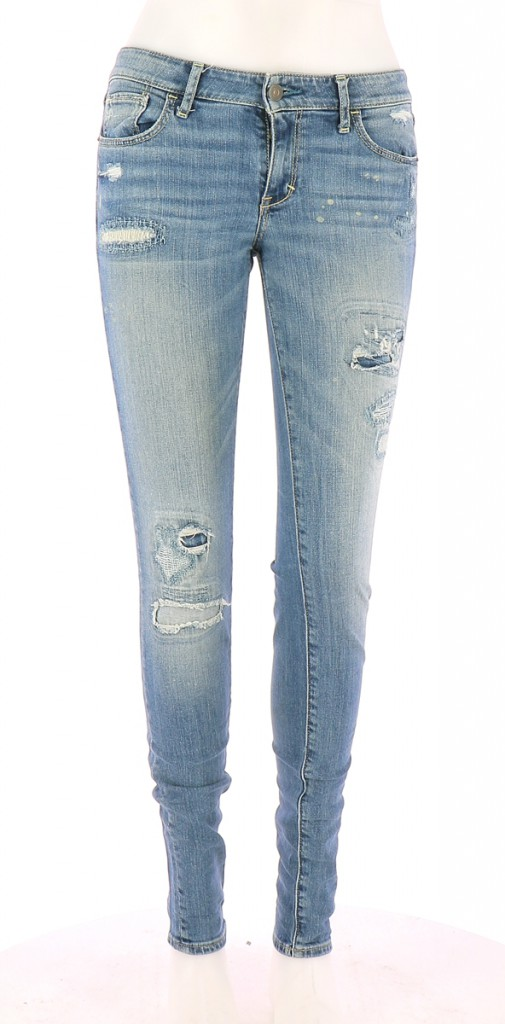 Vetements Jeans ABERCROMBIE BLEU