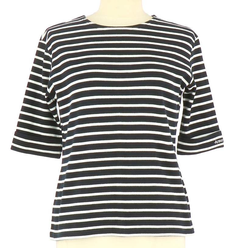 Vetements Tee-Shirt ARMOR LUX BLEU MARINE