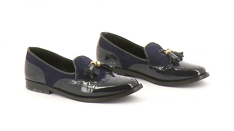 Chaussures Derbies JONAK BLEU MARINE