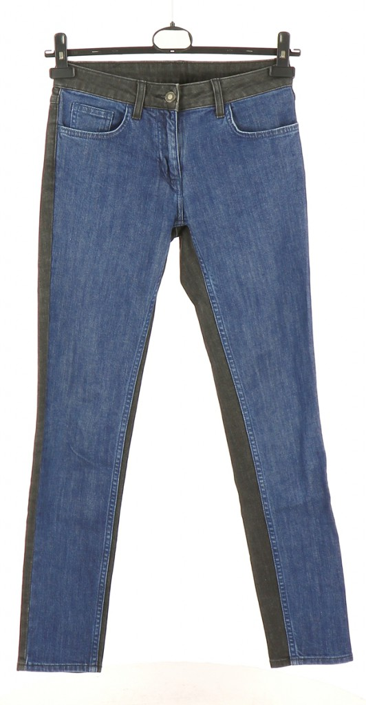 Vetements Jeans SANDRO BLEU MARINE
