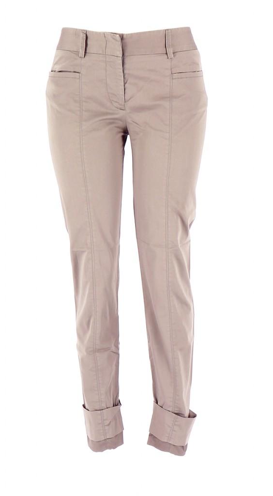 Vetements Pantalon MARITHE ET FRANCOIS GIRBAUD OR