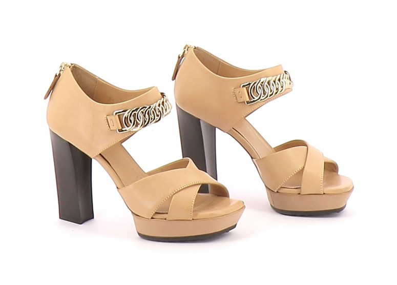 Chaussures Sandales TOD'S BEIGE