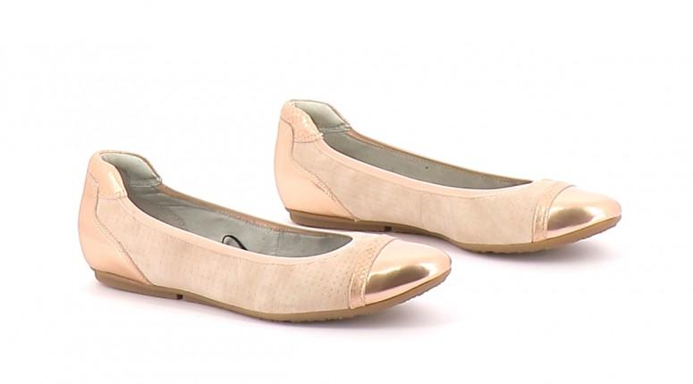 Chaussures Ballerines TAMARIS ROSE
