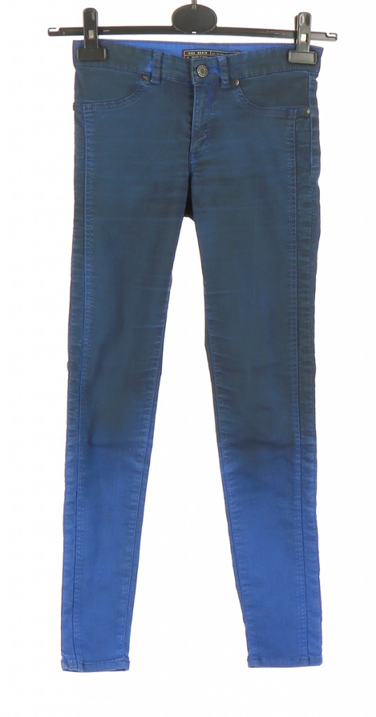 Vetements Pantalon IKKS BLEU