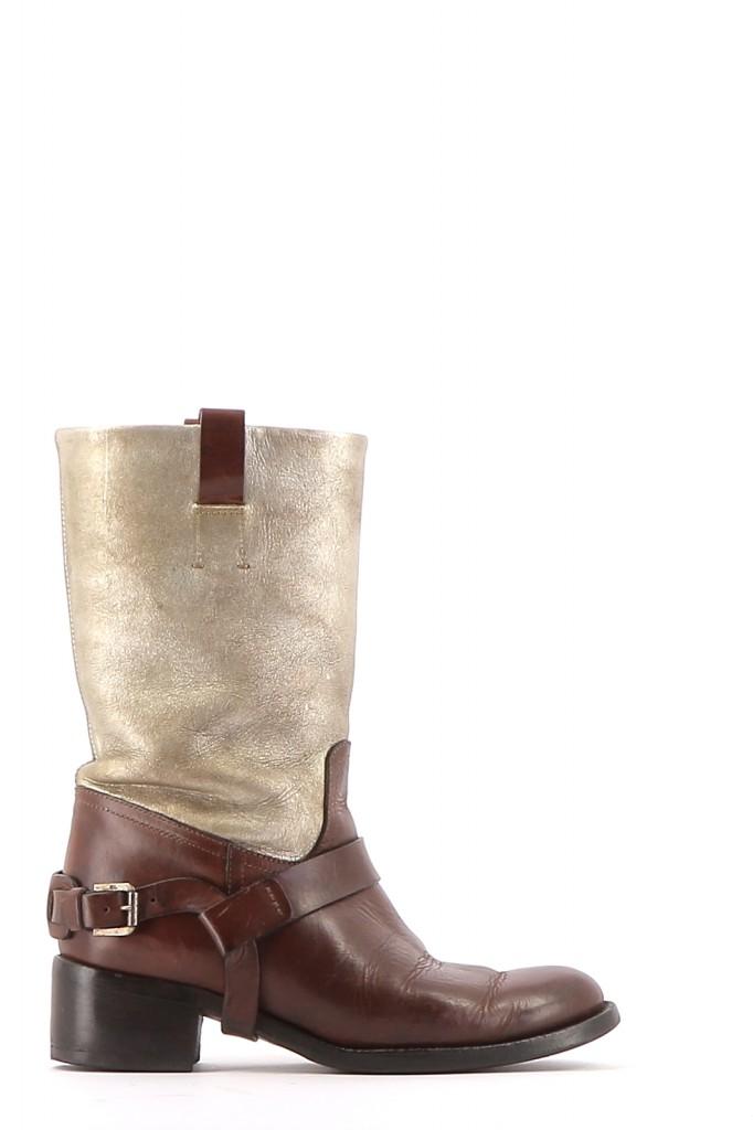 Chaussures Bottes RALPH LAUREN MULTICOLORE