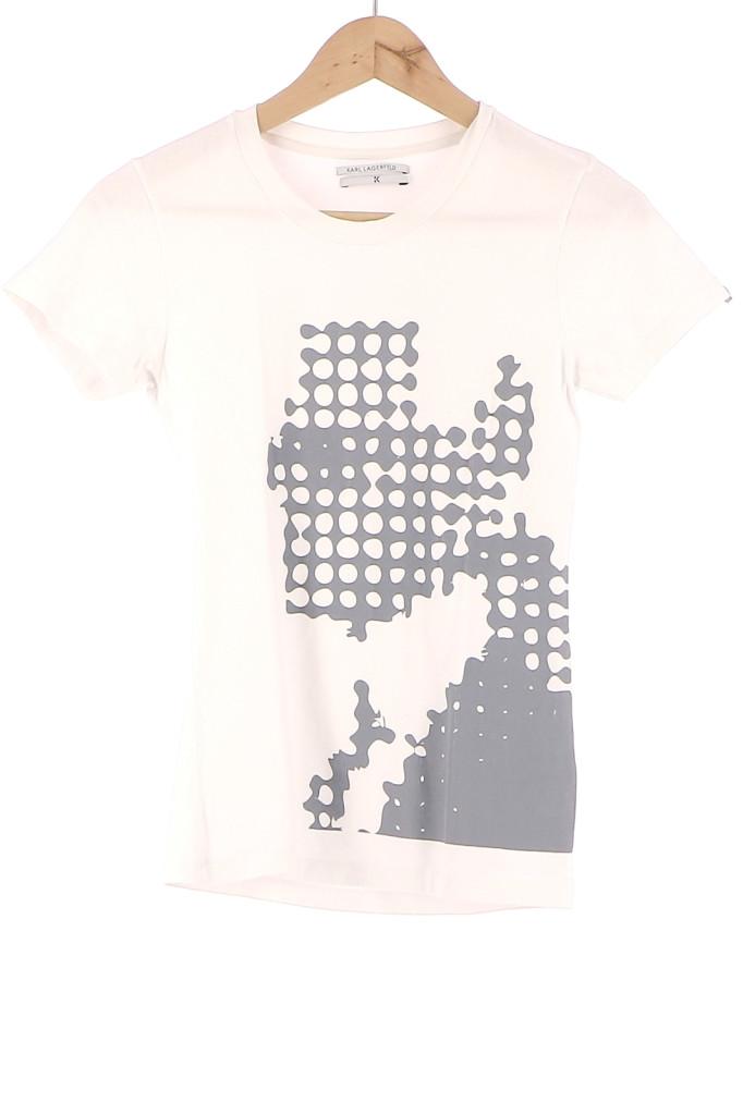 Vetements Tee-Shirt KARL LAGERFELD BLANC