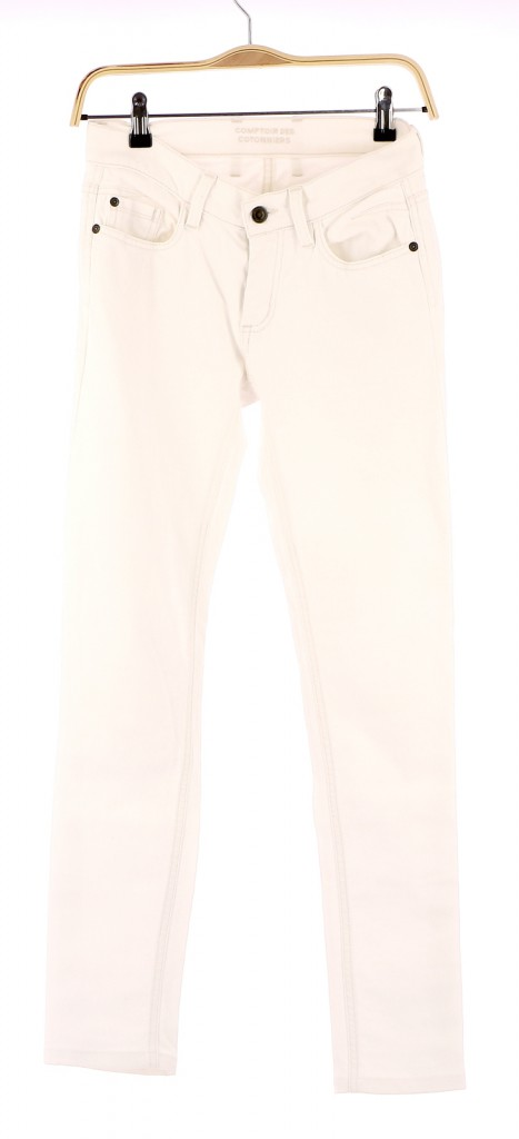Vetements Jeans COMPTOIR DES COTONNIERS BLANC