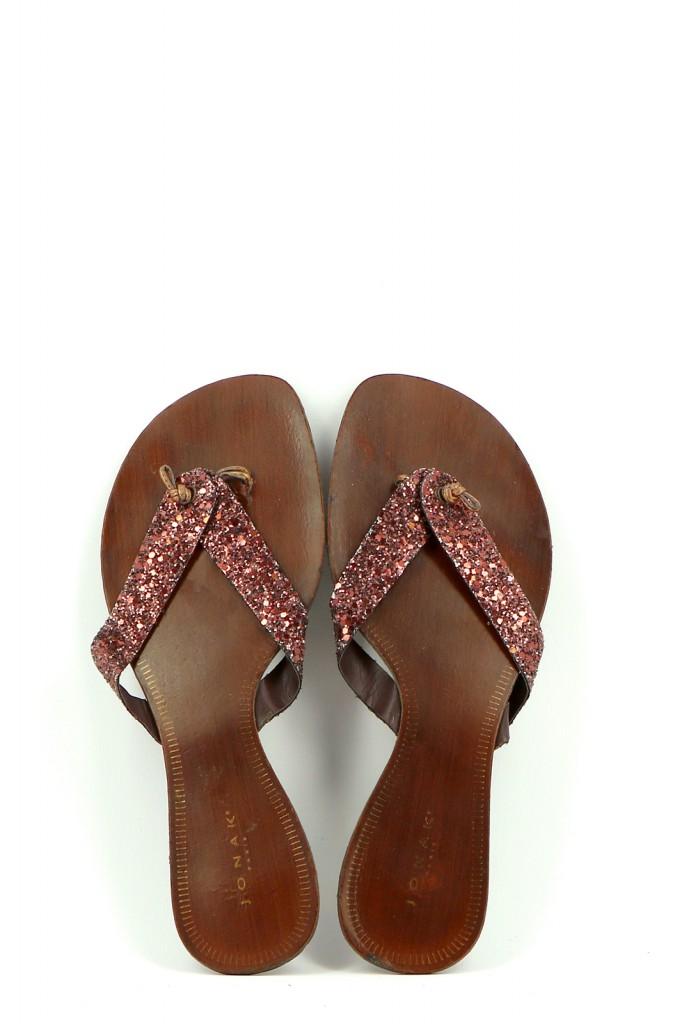 Chaussures Mules JONAK MARRON