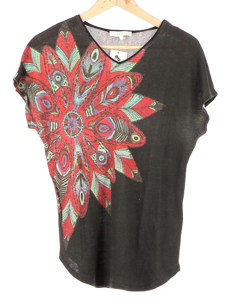 Vetements Top SANDRO MULTICOLORE