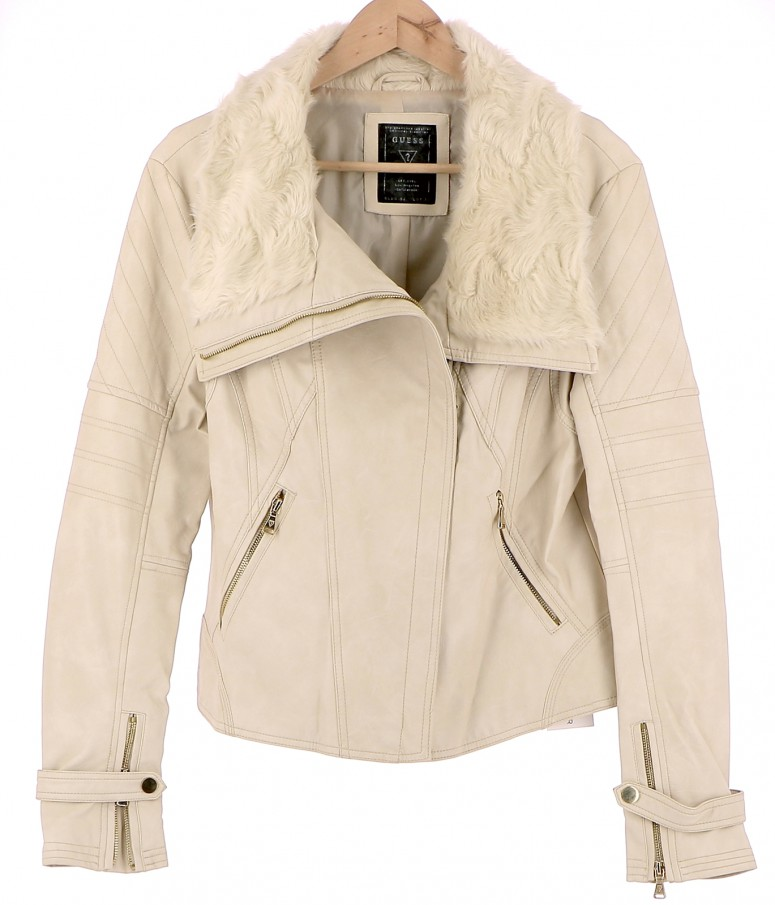 Vetements Blouson GUESS BEIGE