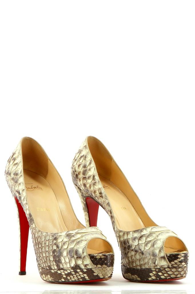 Chaussures Escarpins CHRISTIAN LOUBOUTIN BEIGE