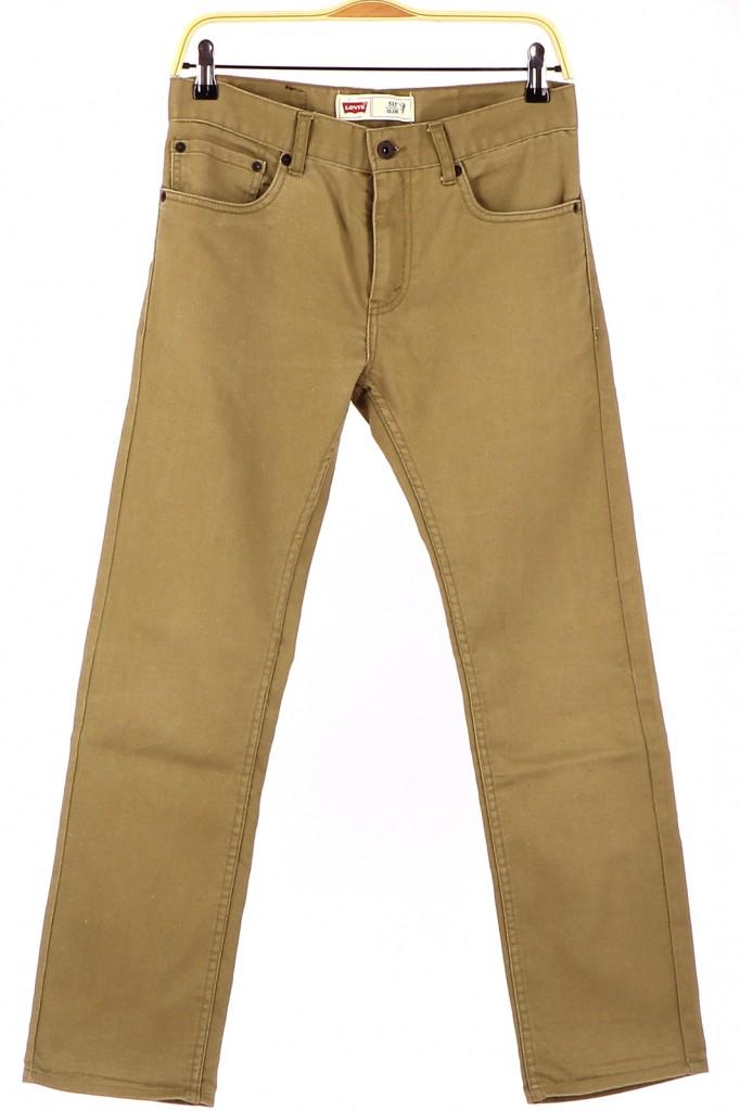 Vetements Jeans LEVI'S VERT CLAIR