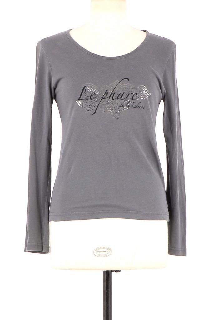 Vetements Tee-Shirt LE PHARE DE LA BALEINE GRIS