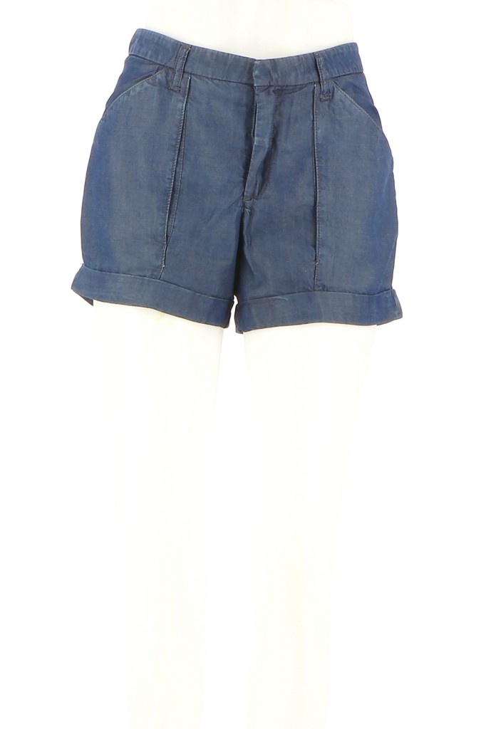 Vetements Short HELMUT LANG BLEU
