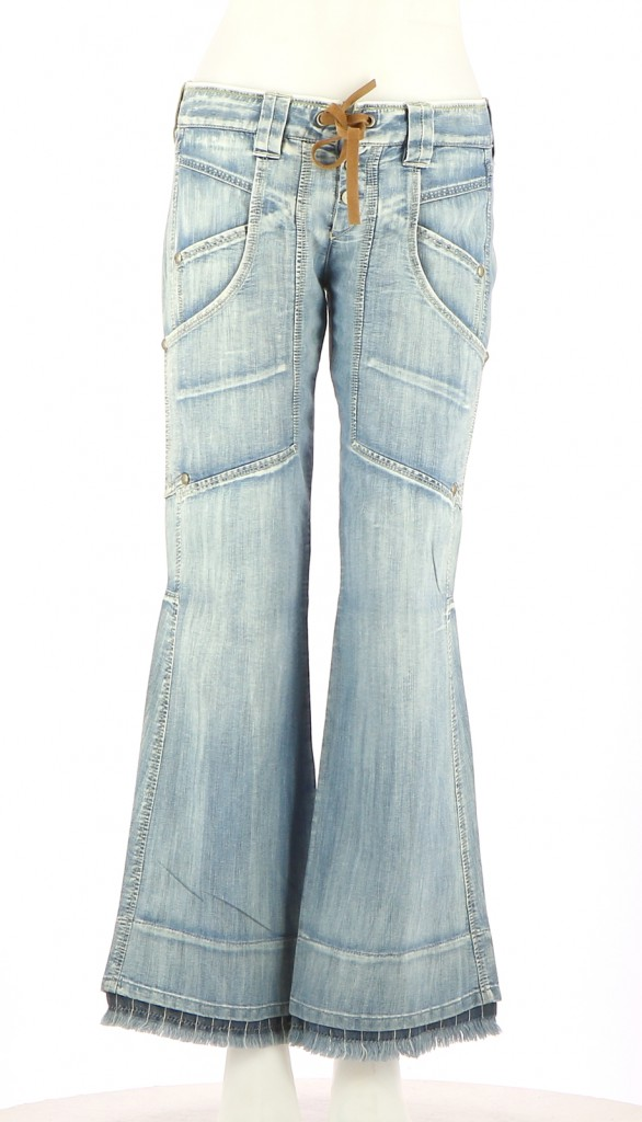 Vetements Pantalon MARITHE ET FRANCOIS GIRBAUD BLEU