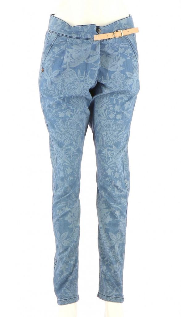 Vetements Pantalon SCOTCH & SODA BLEU
