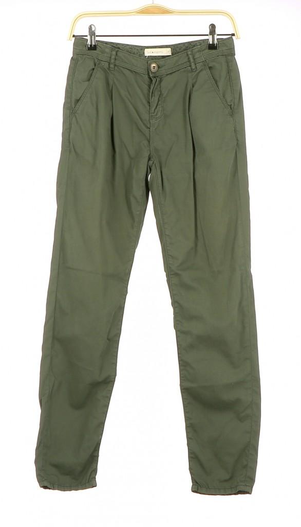 Vetements Pantalon SUD EXPRESS VERT FONCé