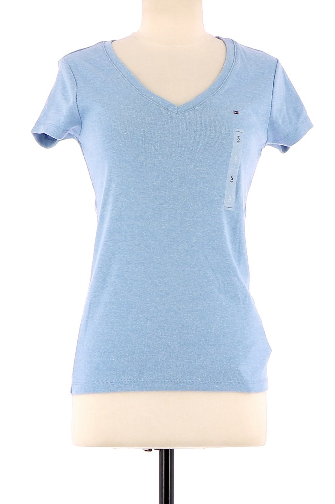 Vetements Tee-Shirt TOMMY HILFIGER BLEU CLAIR