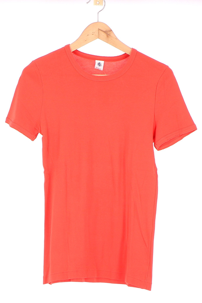 Vetements Tee-Shirt PETIT BATEAU ORANGE