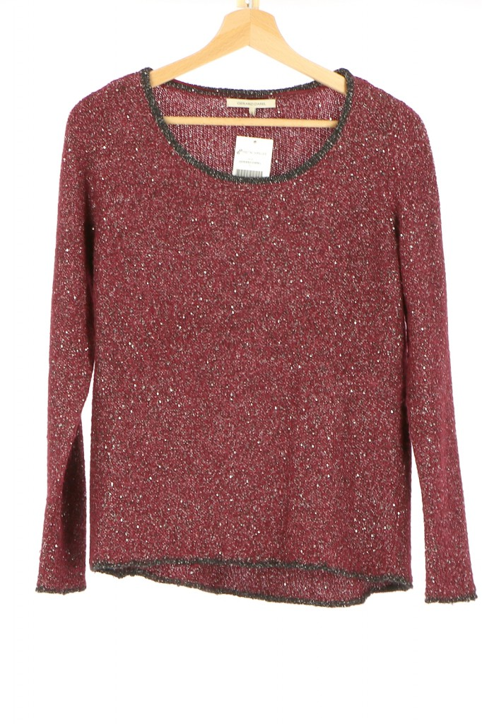 Vetements Pull GERARD DAREL BORDEAUX