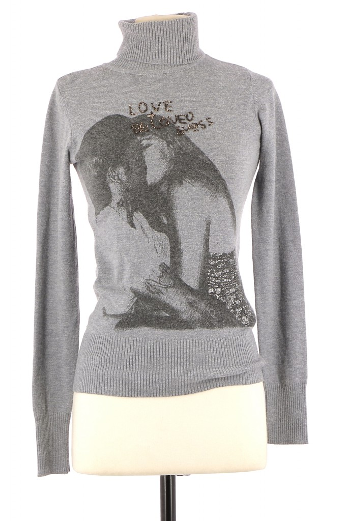 Vetements Pull GUESS GRIS
