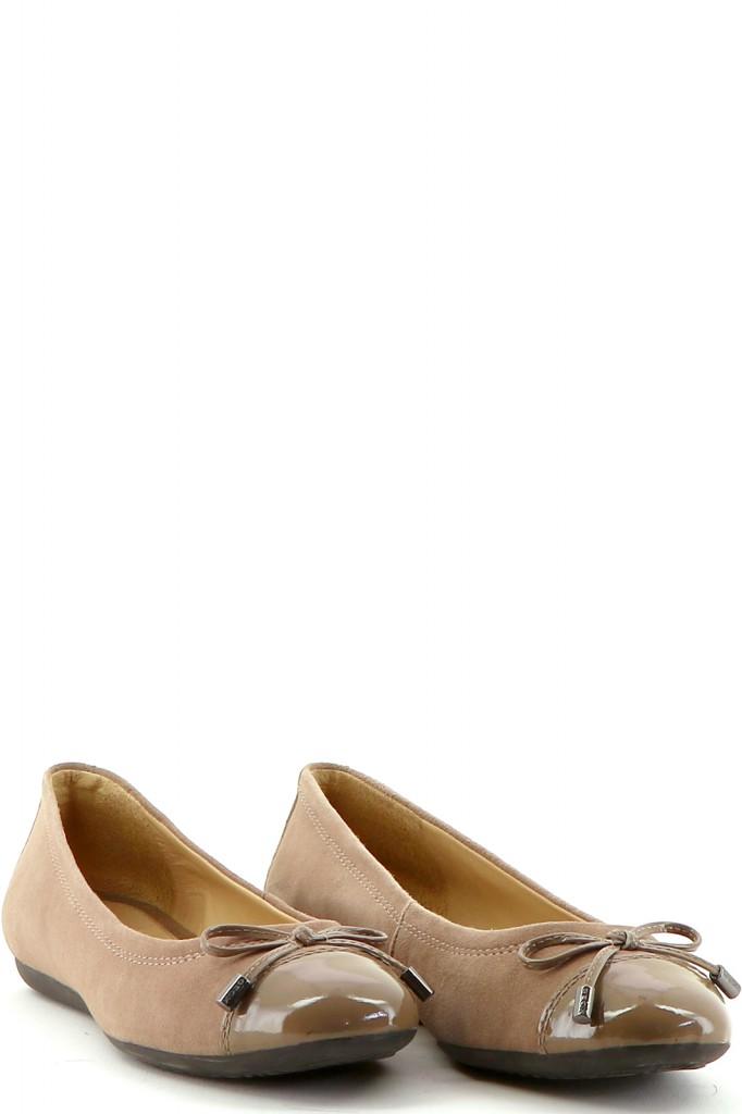 Chaussures Ballerines GEOX BEIGE