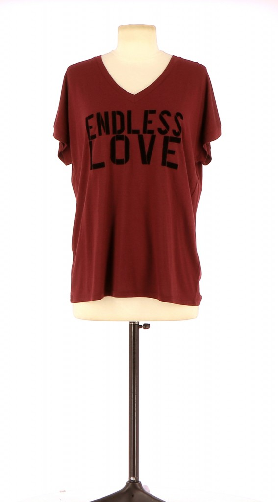 Vetements Tee-Shirt BERENICE BORDEAUX