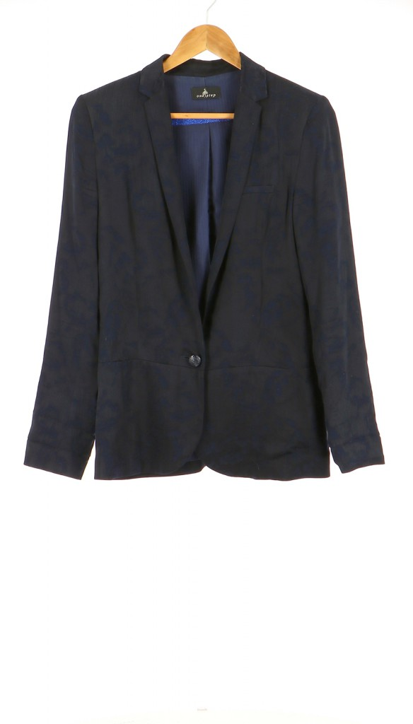 Vetements Veste / Blazer ONE STEP BLEU MARINE