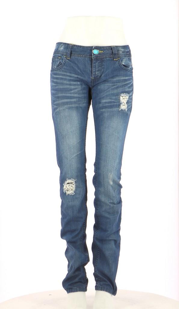 Vetements Pantalon DESIGUAL BLEU MARINE
