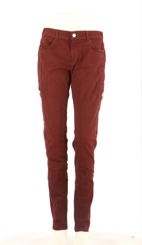 Vetements Jeans ZAPA BORDEAUX