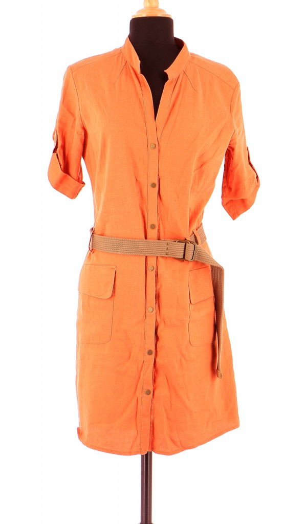 Vetements Robe IKKS ORANGE