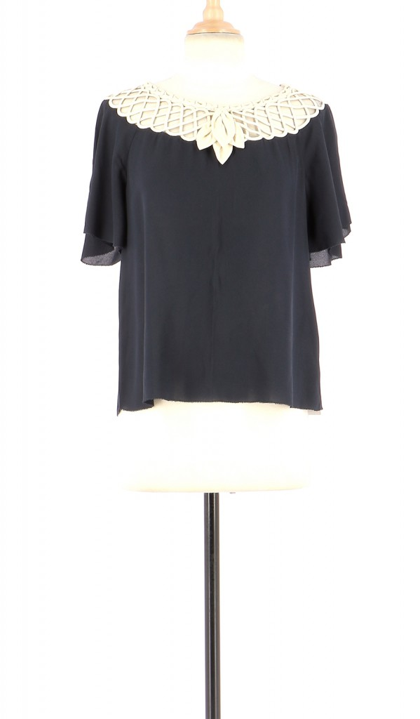 Vetements Blouse 3.1 PHILIP LIM BLEU MARINE