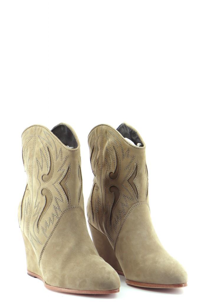 Chaussures Bottes COMPTOIR DES COTONNIERS MARRON