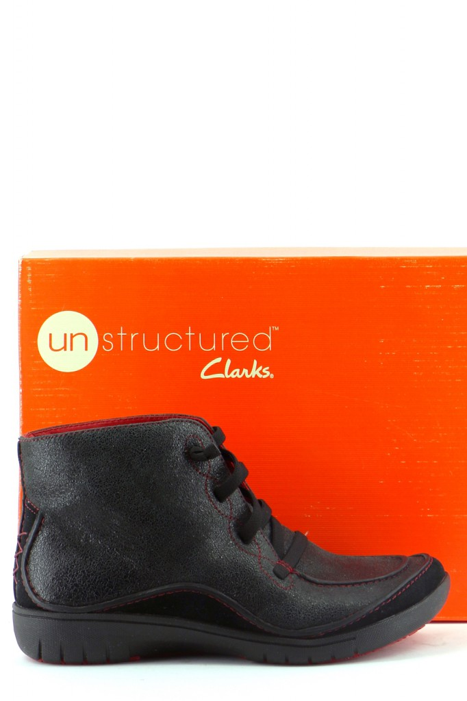 Chaussures Bottines / Low Boots CLARKS NOIR
