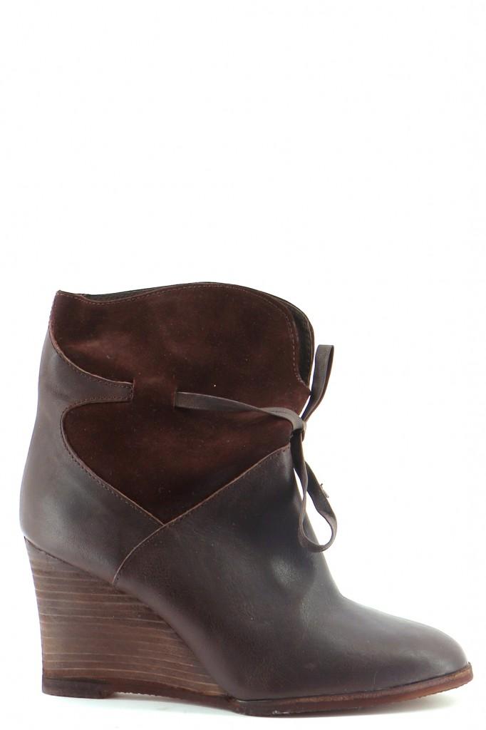 Chaussures Bottes COMPTOIR DES COTONNIERS CHOCOLAT