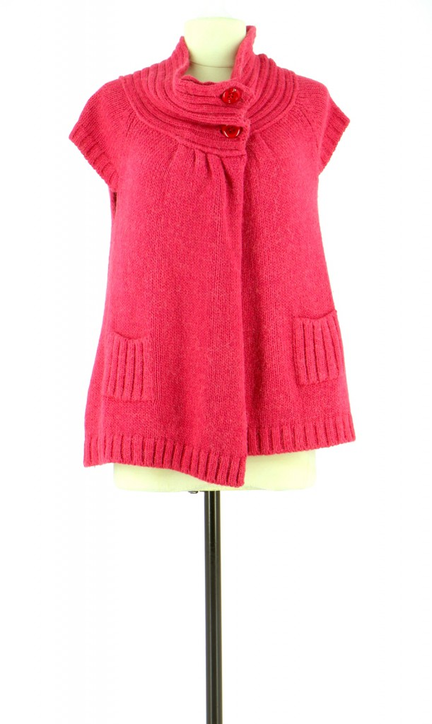 Vetements Gilet LIU JO FUSCHIA