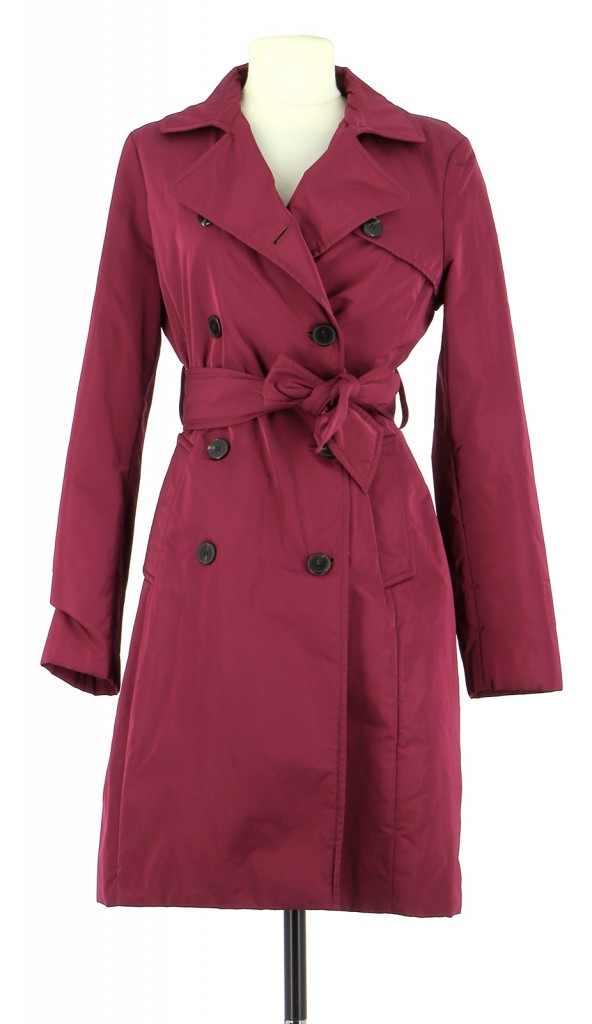 Vetements Trench GEORGES RECH FUSCHIA
