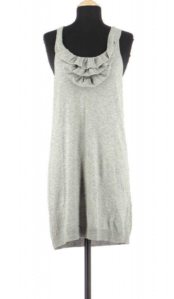 Vetements Robe MAJE GRIS