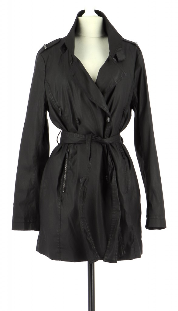 Vetements Trench ONE STEP NOIR