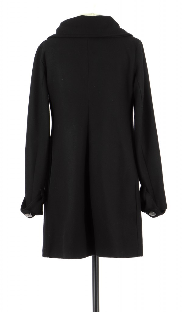 Vetements Manteau LA FEE MARABOUTEE NOIR