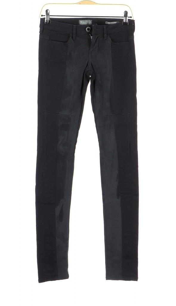 Vetements Pantalon GUESS BLEU MARINE