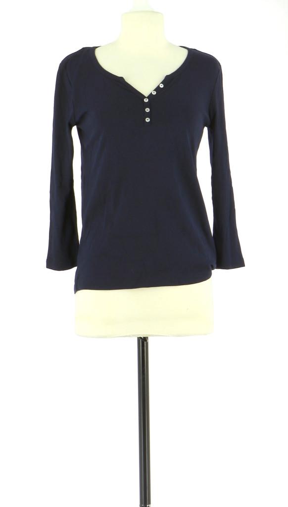 Vetements Tee-Shirt 123 BLEU MARINE