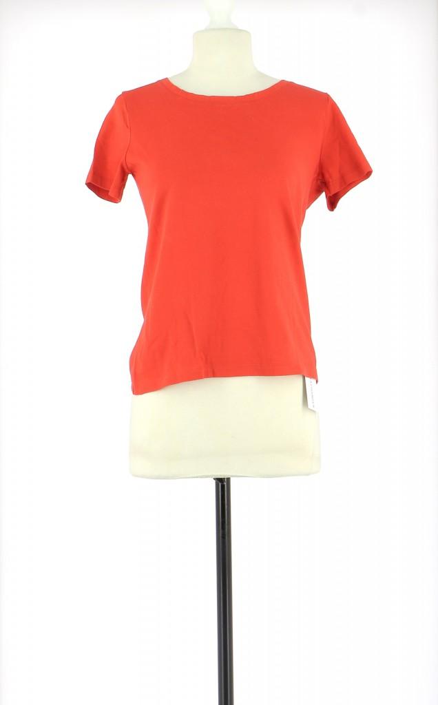Vetements Tee-Shirt PETIT BATEAU ROUGE