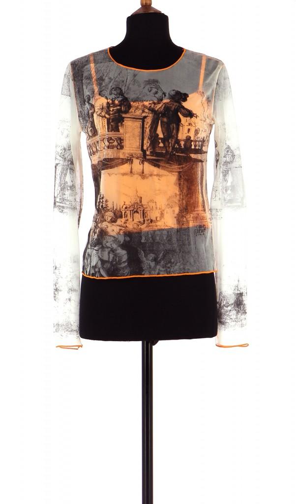 Vetements Tee-Shirt COP COPINE CORAIL
