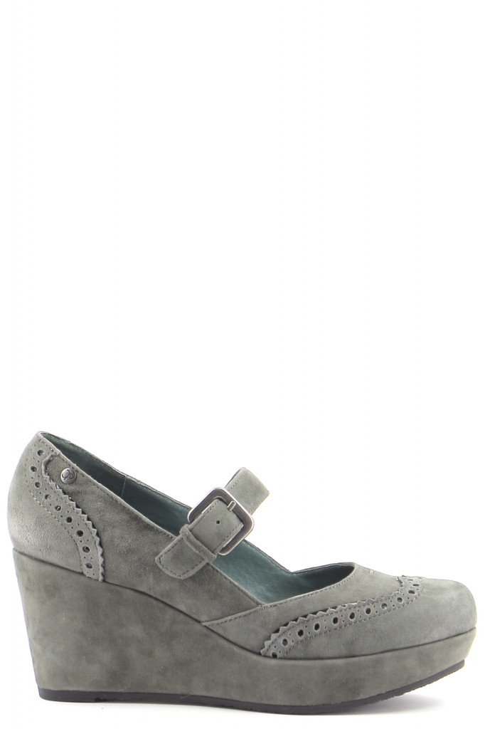 Chaussures Escarpins COULEUR POURPRE GRIS