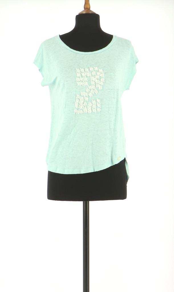 Vetements Tee-Shirt COP COPINE BLEU CLAIR